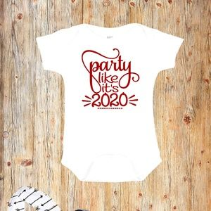 Party like it's 2020 New Year's Eve Onesie